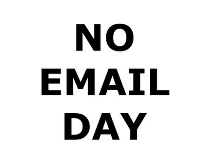 No Email Day – can you go a day without eMail?
